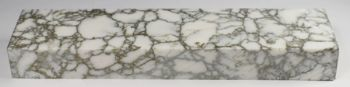 White With Gold Matrix Tru-stone Block 0.75